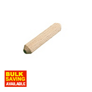 Precision Multi-Grooved Dowel Pins 10 x 40mm Pack of 100