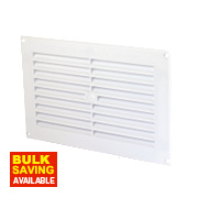 Map Vent Fixed Louvre Vent White 152 x 229mm