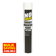 No Nonsense Survey Marking Paint White 750ml