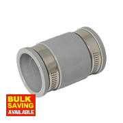 Flexi Waste Straight Coupling 38-45mm