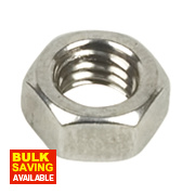 A4 Stainless Steel Hex Nuts M5 Pack of 100