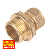 """Male Coupler 15mm x ¾"""""""