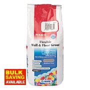 Mapei BuildFix Flexible Wall & Floor Grout Med Grey 2.5kg