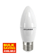 Sylvania Candle Frosted LED Lamp ES 6.5W