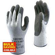 Showa 451 Thermal Grip Gloves White Large