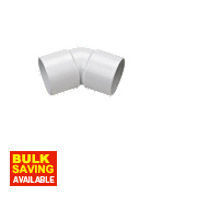 FloPlast 135º (45°) Bend White 32mm Pack of 5