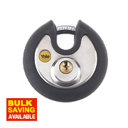 Yale Protector Closed Shackle Disc Padlock 70mm