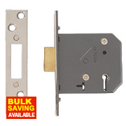 "Yale 5-Lever Mortice Deadlock Polished Chrome 3"" / 76mm"