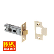 Eclipse Tubular Sprung Latch Electro Brass 63mm