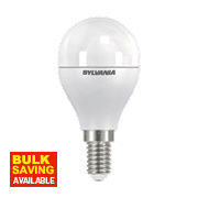Sylvania Golf Ball Frosted LED Lamp 2700 SES 6.5W