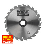 DeWalt DT1155-QZ Circular Saw Blade Portable 216 x 30mm 40T