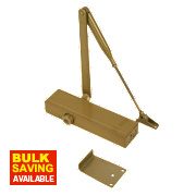 Briton 1120BGES Overhead Door Closer Gold