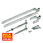 Standard Gate Fitting Kit Galvanised 50 x 610 x 80mm