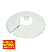 Talon White Pipe Collar 22mm Pack of 10
