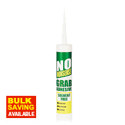 No Nonsense Grab Adhesive Solvent-Free White 310ml