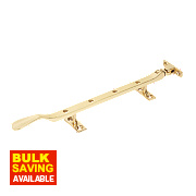 Casement Stays Polished Brass 254mm