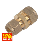 Brass Coupling 15mm x12