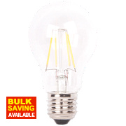 LAP GLS A60 LED Filament Lamp Clear ES 6W