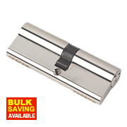 Securefast 6-Pin Euro Cylinder Lock 40-45 (85mm) Polished Nickel