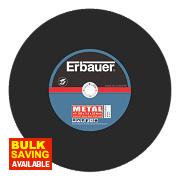 Erbauer Metal Cutting Discs 355 x 3.5 x 25.4mm Pack of 2