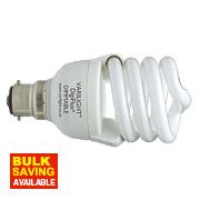 Varilight DigiFlux® Energy Saver+ Spiral Compact Fluorescent Lamp BC 20W