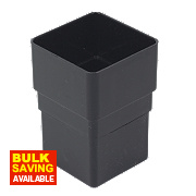 Square Line Black Socket 65mm