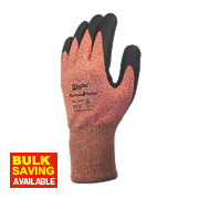 Skytec Gamma 3 Nitrile Foam Palm Gloves Amber X Large