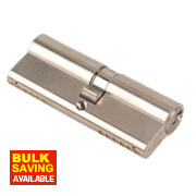 Yale 6-Pin Euro Cylinder Lock BS 40-45 (85mm) Satin Nickel