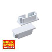 Tower End Cap 38 x 16mm Pack of 2