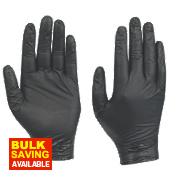 Showa N-Dex 7700 Nitrile Nighthawk Disposable Gloves Large Pk50