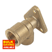 """End Feed Wall Plate Elbow 15mm x ½"""""""