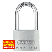 Abus 64 Titalium Long Shackle Padlock 40mm