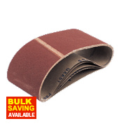Cloth Sanding Belts 100 x 533mm 60 Grit Pack of 5