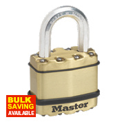 Master Lock Excell Laminated Steel Padlock 45mm