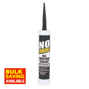 No Nonsense All-Weather Sealant Black 310ml
