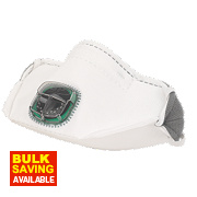 JSP Typhoon Typhoon Horizontal Fold Flat Valved Mask FFP1