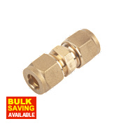 Straight Coupling 8mm Pack of 10