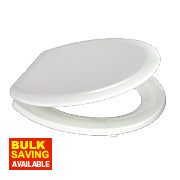 Carrara and Matta ProSeat CP American Innova Toilet Seat Wood/Thermoset