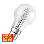 Osram BC Classic ECO Superstar GLS Halogen Lamp BC 77W