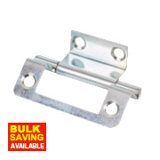 Double Cranked Hinges Zinc-Plated 35 x 50mm Pack of 20