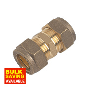 Straight Coupling 15mm Pack of 2