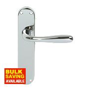 Eclipse 710 Series Latch Door Handle Pair Polished Chrome