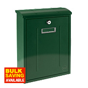 Yale Maryland Post Box Green Satin Steel