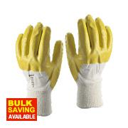 Skytec Neon Neon Gloves Yellow X Large