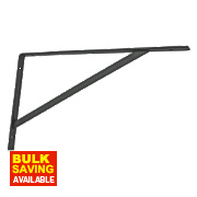 Heavy Duty Brackets Black 500 x 300mm Pack of 2