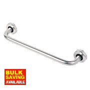 Office D Pull Handle Concealed Fix Satin Aluminium 300mm
