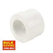 FloPlast Overflow Waste Reducer White 21.5 - 32mm