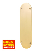 Finger Plate Victorian Polished Brass