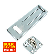 Master Lock Heavy Duty Hasp & Staple 150mm