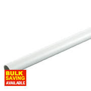 Tower Conduit Heavy Gauge 25mm x 2m Length White